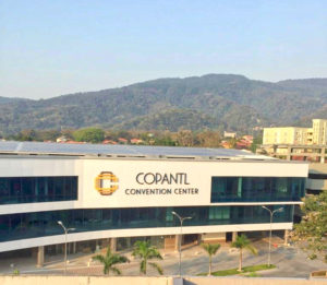 We were very comfortable staying at the Copantl Hotel-Convention center