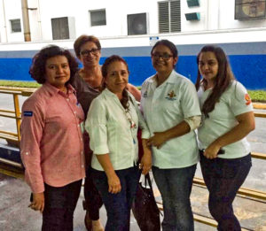 Staff members from San Pedro Sula Flour Mill